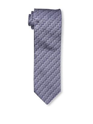 Missoni Men's Mini Zig Zag Tie, Blue