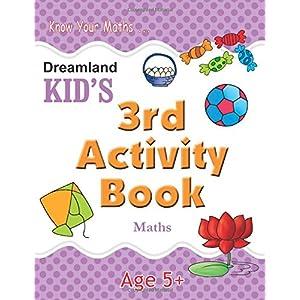 3rd Activity Book - Maths (Kid's Activity Books)