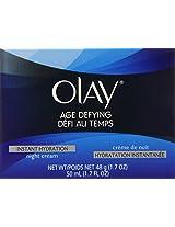 Olay Age Defying Instant Hydration Night Cream 1.7 Oz