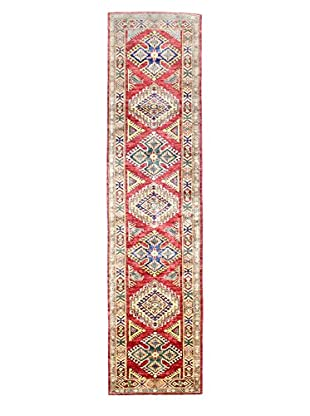 Bashian Rugs One-of-a-Kind Hand Knotted Kazak Rug, Red, 2' 5