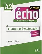 Echo 2e Edition: Fichier D'evaluation A2