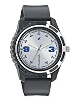 Fastrack Silver Dial Watch For Men-3114PP02