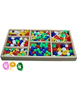 Little Genius Jumbo Beads Set, Multi Color