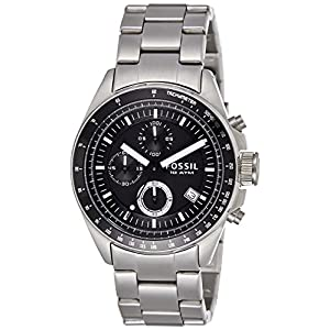 Fossil Decker CH2600 Black Dial Men's Watch