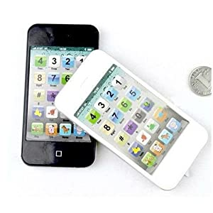 BATTERY OPERATED IPHONE 5 STYLE SHAPED WALKIE TALKIE SET TOY FOR KIDS
