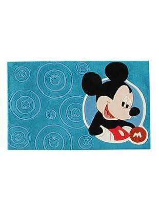 ABC Alfombra Walt Disney Mickey Mouse (Turquesa)