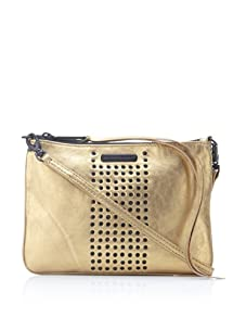 Rebecca Minkoff Women's Rockette Leather Clutch (Metallic Gold)