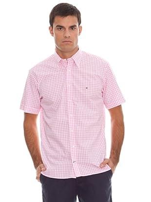 Tommy Hilfiger Camisa Ginham (Rosa / Blanco)