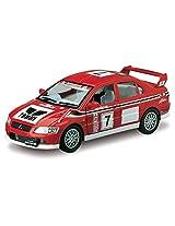 Kinsmart 1:36 Scale Mitsubishi Lancer Evolution VII WRC