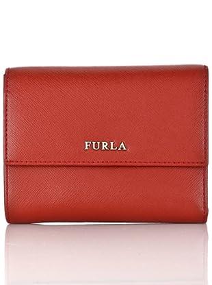 Furla Brieftasche Lettering Classic (Rot)