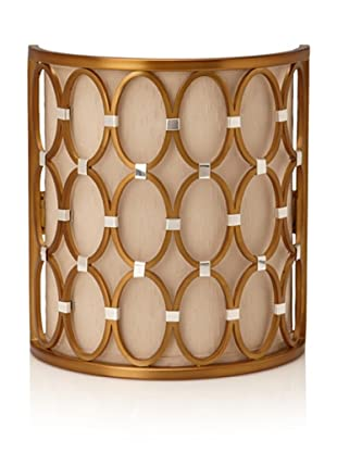 Candice Olson Lighting Cosmo Wall Sconce (Satin Brass)