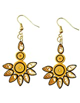 Designer's Collection Paper Quilling Ear Rings for Women-DSERB023