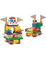 Sluban M38-B6008 Lego Amusement Park Educational Toy, Multi Colour