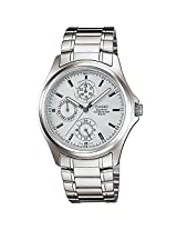 Casio Enticer Silver Dial Men's Watch - MTP-1246D-7AVDF (A388)