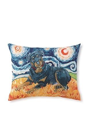 Van Growl Rottweiler Pillow