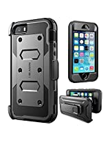 iPhone SE Case, [Armorbox] i-Blason built in [Screen Protector] [Full body] [Heavy Duty Protection ]/Holster/Bumper Case for Apple iPhone SE 2016 Release/Compatible with iPhone 5S/5 (Black)