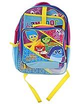 "Disney Inside Out 15"" School Backpack, Detachable Lunch Bag and Folder"
