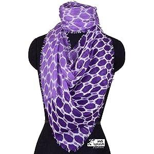 Indisplash Fashion Honeycomb Scarf
