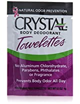 Crystal Solo Towlette Display Case Deodorant, 0.1 Ounce