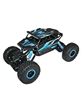 Adraxx 1:18 Scale RC Mini Rock Crawler Car Toy