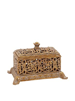 UMA Decorative Scroll Box, Gold