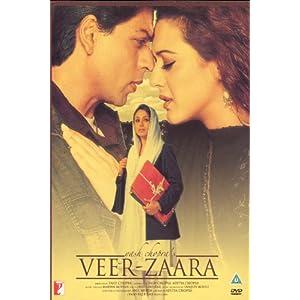 Veer-Zaara (Classic Shahrukh Hindi Film / Indian Cinema / Bollywood Movie DVD)