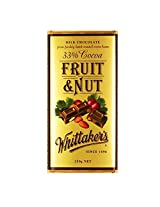 Whittakers Fruit and Nut Block, 250g