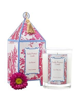 Sedafrance Lis Blanc 10-Oz. Pagoda Candle