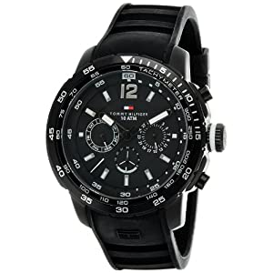 Tommy Hilfiger Chronograph Black Dial Men's Watch - TH1790889/D