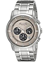 Kenneth Cole New York Men s KC9292 Dress Sport Chronograph Sub-Eye Analog Bracelet Watch