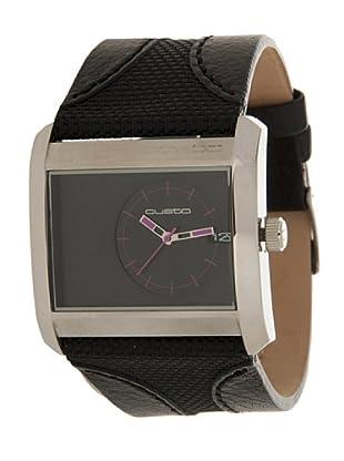 Custo Watches CU005602 - Reloj de Señora cuarzo piel Negro