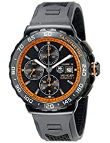 TAG Heuer Men's THCAU2012FT6038 Formula 1 Analog Display Swiss Automatic Black Watch
