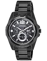 Citizen Analog Black Dial Men's Watch - AG8335-58E