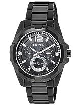 Citizen Analog Black Dial Men's Watch - AG8335-58E