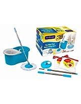 Rinnoware-Bucket Mop Floor Cleaner - Blue