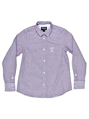 Datch Dudes Camisa Clarke (Blanco / Violeta)