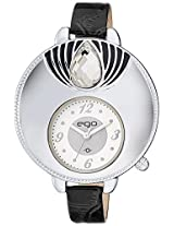 Ego by Maxima Analog Silver Dial Women's Watch - E-40342LALI