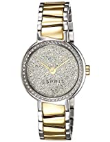 Esprit SS-2014 Analog (SILVER) Dial Women's Watch - ES107642004