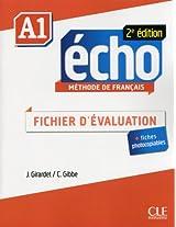 Echo 2e Edition: Fichier D'evaluation A1