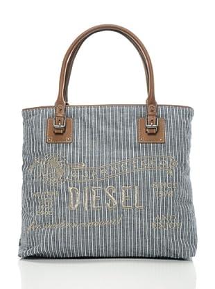 Diesel Tasche Shop & Stripes (Blau/Braun)