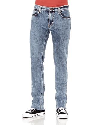 Nudie Jeans Pantalón Thin Finn (Azul usado)