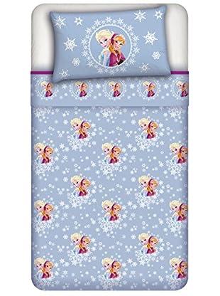 Disney Betttuch und Kissenbezug Frozen