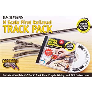 Bachmann World's Greatest Hobby Track Pack N Scale
