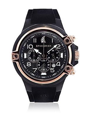 Spinnaker Uhr mit japanischem Quarzuhrwerk Forestay schwarz 46 mm
