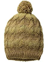 D&Y Women's Slouchy Cable-Knit Beanie