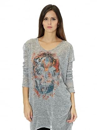 Free for Humanity Maxi Camiseta (Antracita)