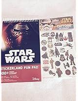Disney Star Wars Tattoos and Fun Pad Bundle