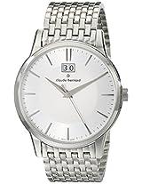 Claude Bernard Classics Analogue White Dial Men's Watch - 63003 3M AIN