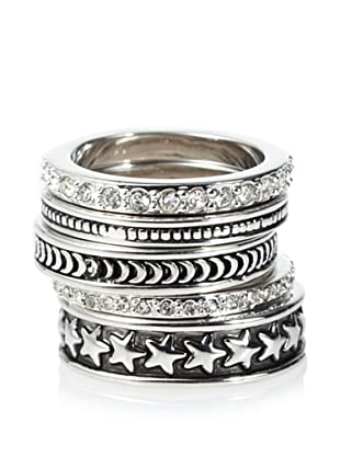 Lyralovestar Kaddie Oxidized Ring Set