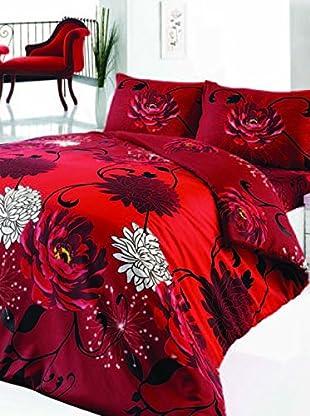Colors Couture Bettdecke und Kissenbezug Acelya